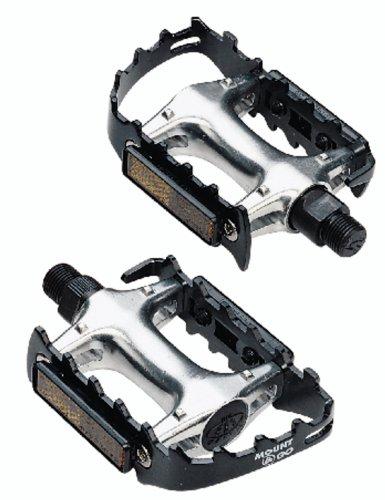 Go 2 Tight (BBB CyclingMount&Go Fahrrad Pedale|Aluminium-Pedalkörper und Käfig leicht|HochwertigeCroMo-Achse|Für Pedalkäfige und BPD-30 Bike &Tight)