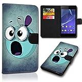 Book Style Alcatel One Touch Go Play 7048X Tasche Flip Brieftasche Handy Hülle Kartenfächer für Alcatel One Touch Go Play 7048X - Design Flip SVH185