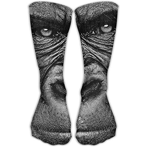 UFHRREEUR Malsjk8 Sock Gorilla Art Print Unisex Sport Over-The-Calf Long Tube Stockings One Size