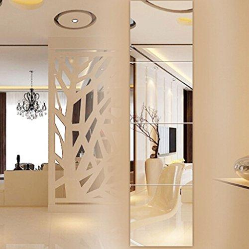 Bloomy Home- Espejo Cuerpo Entero montado Pared Espejo