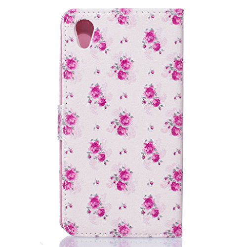 iPhone 7 étui en cuir, w-pigcase dessin couleur ou Motif Étui en cuir PU avec design raffiné et confortable feelling pour iPhone 7, love, iPhone 7 Plus rose