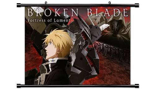 Broken Blade Anime Fabric Wall Scroll Poster (32 x 21) Inches