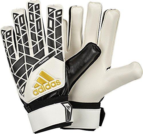 adidas ACE TRAINING - Torwart Handschuhe - Herren, Weiß / Schwarz, 7 (Torwart Handschuh Größe 7)