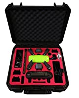 Professional Carrying Case for DJI Spark - UK Explorer Version - IP67 Water- and Dust proofed - Made in Germany - by MC-CASES …