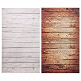 #9: 3X5FT Wood Grain Photography Background Backdrop Cloth For Studio Photo Props