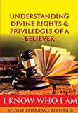 UNDERSTANDING YOUR DIVINE RIGHTS, PRIVILEGES & INHERITANCE AS A BELIEVER: A Divine Revelation Of Our Spiritual Identity, Legal Rights, Privileges & Inheritance In Christ
