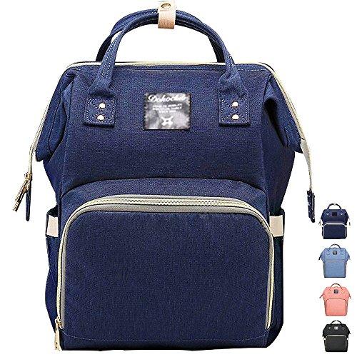 Preisvergleich Produktbild Lmeison Damen Rucksack,Multifunktions Großraum wasserdichte  Mamma Beutel Rucksack Laptop Rucksäcke-Navy