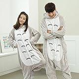 Katara 1744 - Katze Kostüm-Anzug Onesie/Jumpsuit Einteiler Body für Erwachsene Damen Herren als Pyjama oder Schlafanzug Unisex - viele verschiedene Tiere -