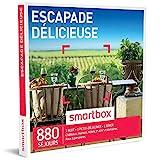 SMARTBOX - Coffret Cadeau - ESCAPADE DÉLICIEUSE - 880 séjours : châteaux, manoirs, domaines de caractère, hôtels 3* et 4*