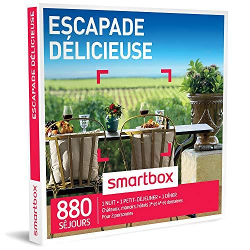 SMARTBOX - Coffret Cadeau homme femme couple - Escapade délicieuse - idée cadeau -...