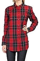 0039 Italy Damen Bluse Hemdbluse ODETTE POCKET, Farbe: Rot