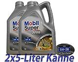 2x5 Liter Mobil Super 3000 XE 5W-30 Motoröl