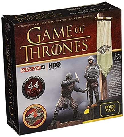 Mc Farlane - Figurine Game of Thrones - Building Set Stark Banner - 0787926193626