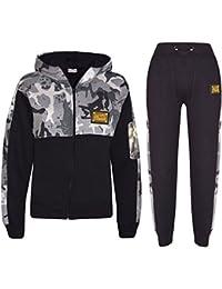 A2Z 4 Kids® Enfants Garçons Filles Survêtement Designer Charbon A2Z Badgé  Camouflage Contraste Panneau Encapuchonné 83e8f784121d