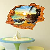 New Tree Lined Trail 3D Sticker Wall Sti...