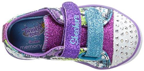 Skechers  Chit ChatGlint & Gleam, Sneakers basses filles Bleu (Denim/Multi)