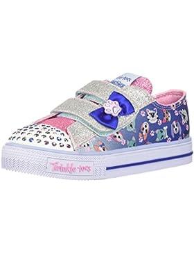 Skechers Zapatillas Para Niña, Color Azul, Marca, Modelo Zapatillas Para Niña 10918N Azul
