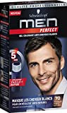 Schwarzkopf – Men Perfect – Gel colorante anti-cheveux bianchi – Castano Scuro Naturale 70