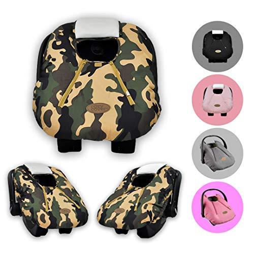 Cozy CoverEVC-Portabici da auto, per bambini, colore: mimetico