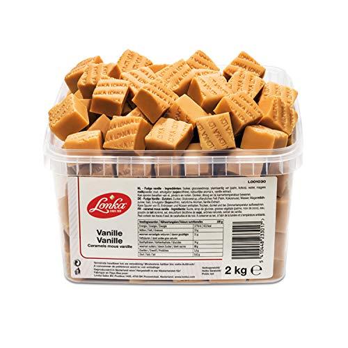 Lonka Fudge Vanille 2 kg Dose | Fudge