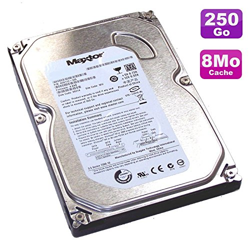 Maxtor 'Festplatte 250 GB SATA 3.5 DiamondMax 21 stm3250820as 7200 U 8 MB -