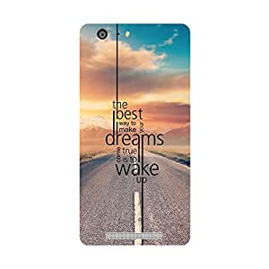 Phone Candy Designer Back Cover with direct 3D sublimation printing for Gionee Marathon M5
