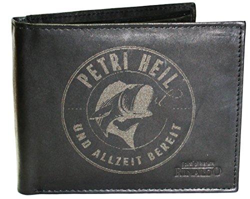 Wotan Textil Petri Heil - Herrengeldbörse Rindleder