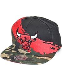 8509ddf72c044 Gorras Chicago Bulls Paintbrush Camo Snapback - Mitchell   Ness