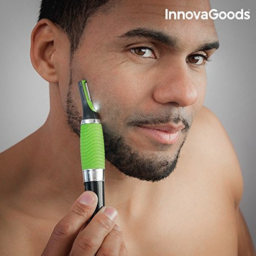 Innovagoods wellness beauté-tagliacapelli elettrico di precisione con led
