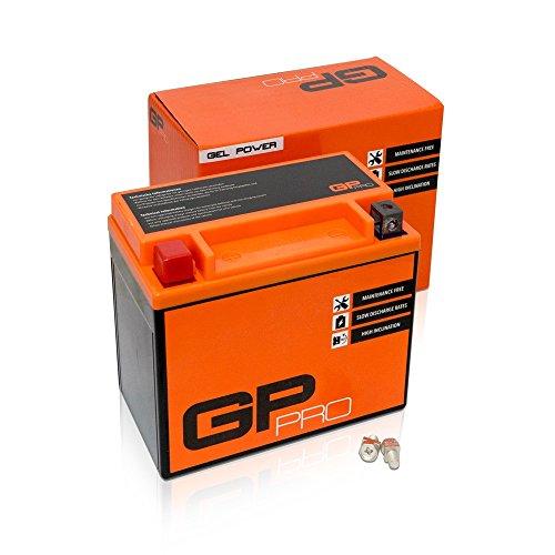 Batterie 12V 10Ah Gel GP-Pro (TYP - GTX12-BS / ähnlich YTX12-BS) (versiegelt / wartungsfrei)