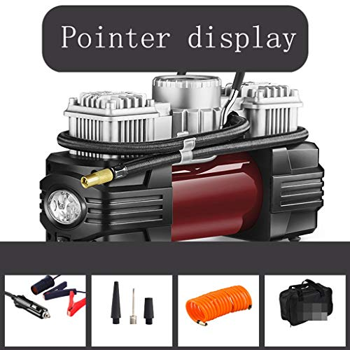 Inflator Inflador Electrico 12V Portátil Coche Neumático