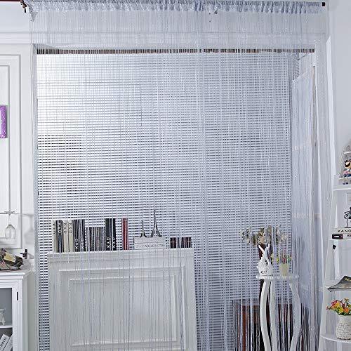 Godagoda - 1 Cortina Decorativa con Purpurina para decoración de escaparates, para Bodas, cafeterías, restaurantes