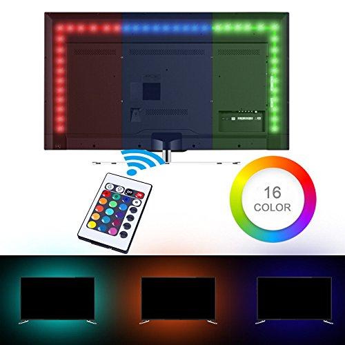 9.8 ft 3 Metros 90 LEDs Retroiluminación De TV Monitores de escritorio...