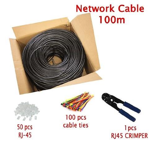 Multi-cable - Cat5e pour l'extérieur Utilisation CCA Câble Réseau Ethernet