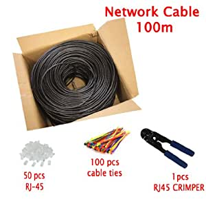 multi cable networking 100m cat5e outdoor direct burial. Black Bedroom Furniture Sets. Home Design Ideas