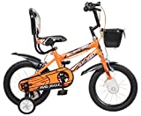 MAD MAXX BMX 14 Inches Neon Orange Single Speed Road Kids Cycle for 3 to 5 Years Child