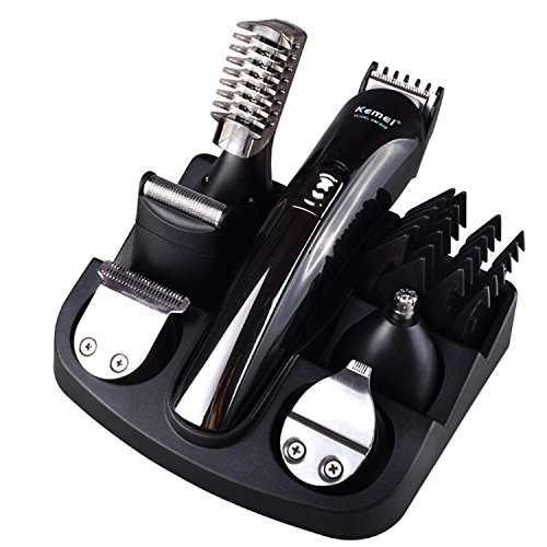 mens-11-in-1-rechargeable-cordless-electic-grooming-kit-with-hair-clippers-moustache-beards-shaver-t