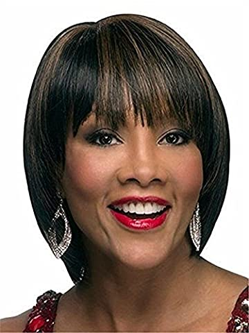 Cheveux Blancs Vaporiser - Bob Style Short Straight Wigs With Bangs