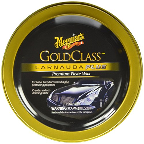 meguiar's g7014j gold class carnauba plus paste wax (311 ml) Meguiar's G7014J Gold Class Carnauba Plus Paste Wax (311 ml) 51RiY36cHgL