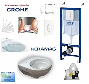grohe vorwandelement mit dr ckerplatte keramag renova nr. Black Bedroom Furniture Sets. Home Design Ideas