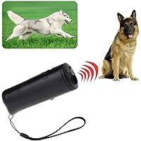 Runrain 3 en 1 Ultrasónico Antiladridos para Perros Entrenamiento Repelente Control Entrenador