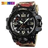 Best Orologi SKMEI Man - SKMEI 1155 Camouflage Color Men Sport Watch Luminoso Review