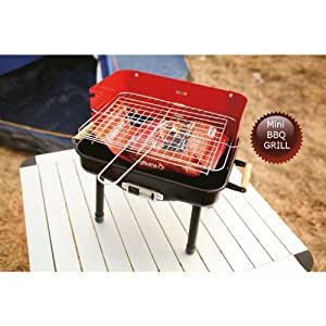 bbq mini grill kompakter grill zum mitnehmen garten. Black Bedroom Furniture Sets. Home Design Ideas