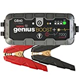 NOCO GB40 Genius Boost Plus Arrancador Ultraseguro con Batería de Litio, 1000 Amp, 12V