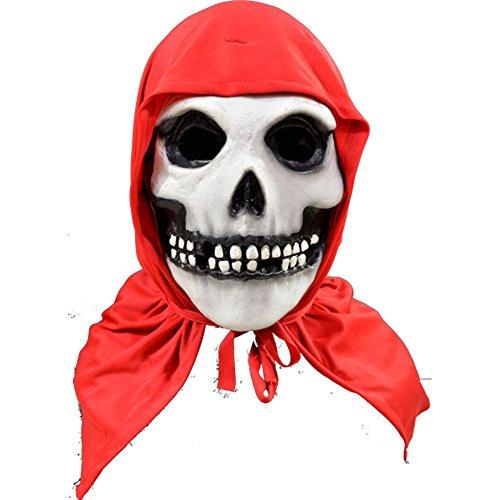 Misfits The Fiend (Red Hood) Full Head Adult Costume (Maske Misfits)