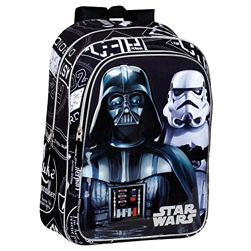 *Star Wars 43 cm Dark Vador et Stormtrooper Shadow Sac à Dos (Large, Noir) Magasin en ligne