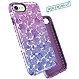 "Speck 79990-5759 Hülle PRESIDIO Inked ""Watercolorfloral"" Apple iPhone 7 glossy/acai purple"