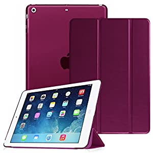 Fintie, un produit de qualité à votre portée. Compatibilité:Cette coque est conçue pour Apple iPad Air (ipad5) 2013libération; ne sera pas compatible avec l'iPad original, iPad 2,3,4ou iPad mini. Matériaux: Cuir synthétique Premium avec intérieu...