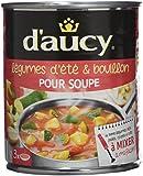 d'aucy Légumes d'Été/Bouillon pour Soupe 800 g