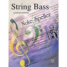 String Note Speller: String Bass